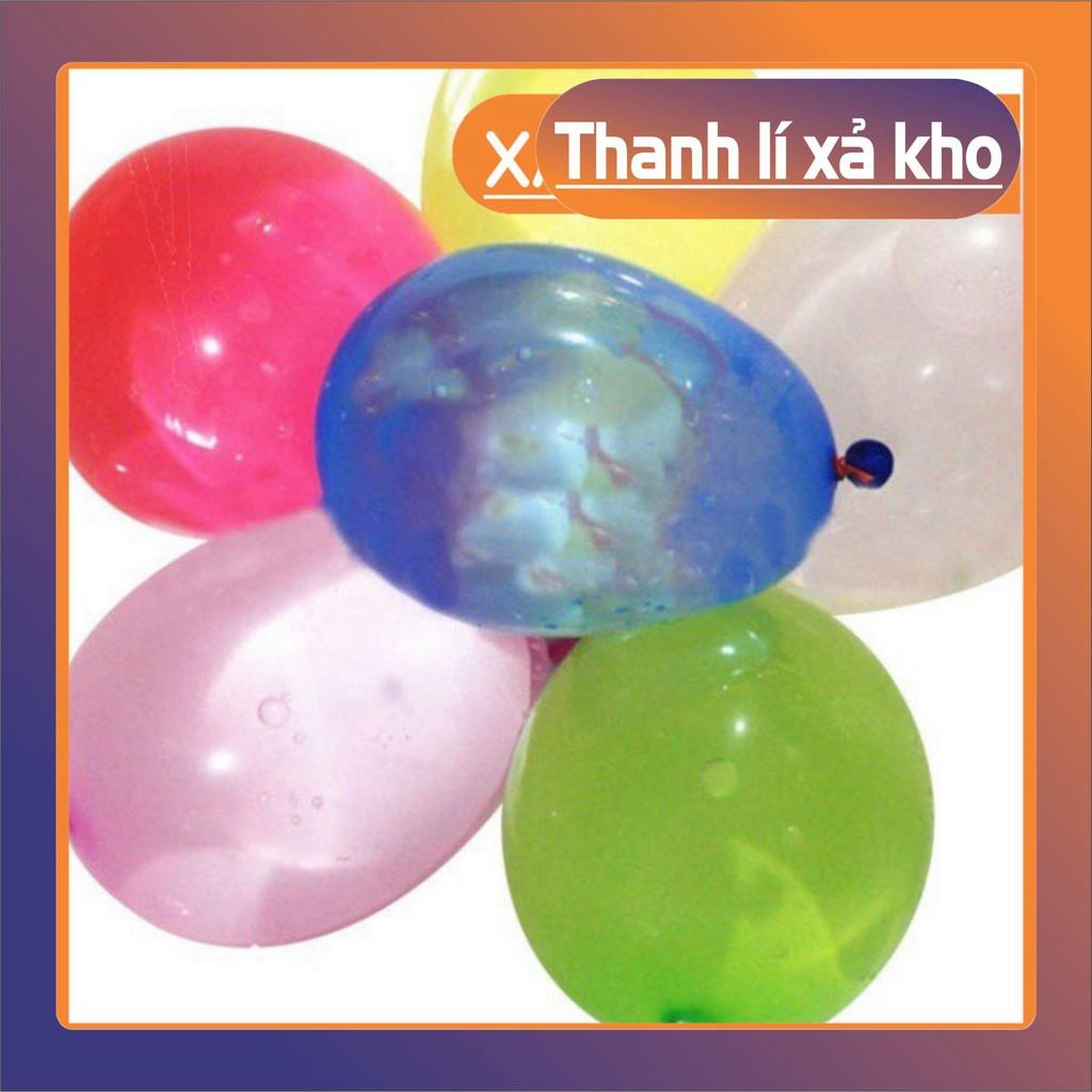 (Thanh Lý) Bộ 111 bóng cao su bơm nước cho bữa tiệc