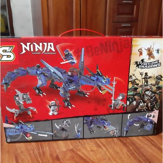 Bộ Lego Lắp Ráp Ninjago Siêu Nhân. Gồm 494Chi Tiết. Lego Xép Hình Đồ Chơi Cho Bé