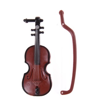 ▲▲1:12 Dollhouse Miniature Violin Musical Instruments Collection DIY Decor Gift