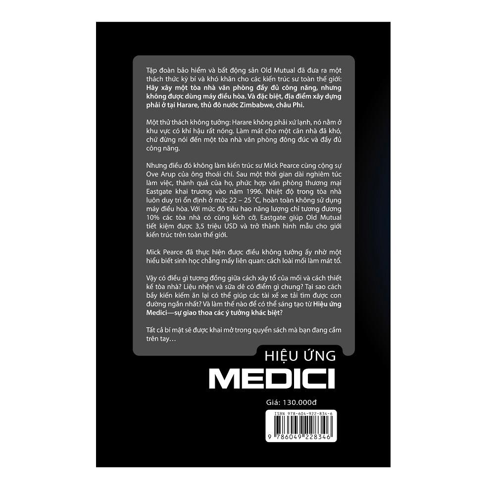 Sách - Hiệu ứng Medici - Nơi sáng tạo bắt đầu