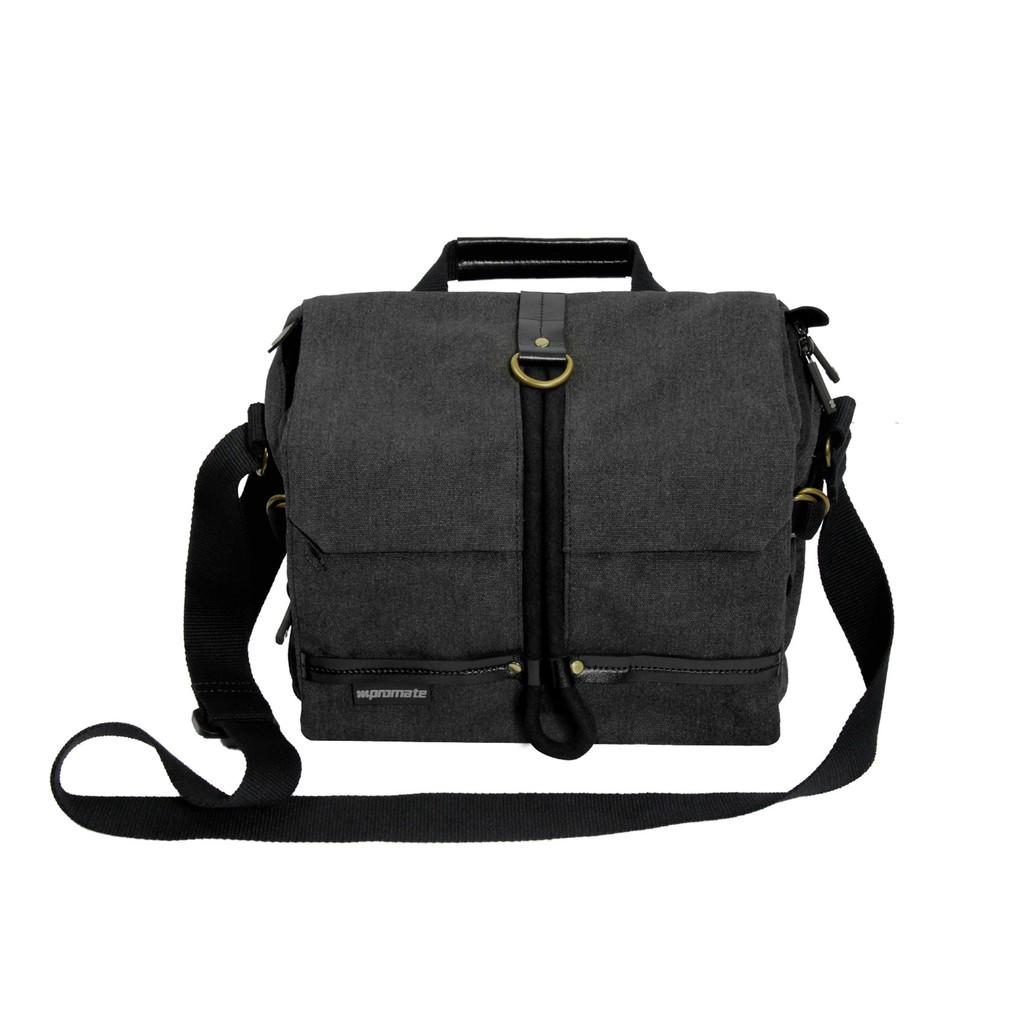 Túi đựng máy ảnh Promate xPlore-M có dây đeo vai (Cỡ trung)