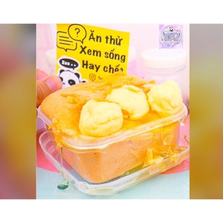 Slime bánh Bông Lan Trứng Muối