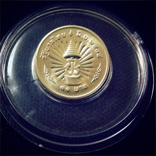 เหรียญกษาปณ์เนื้อเงิน ครบรอบ 25 ปี UNC