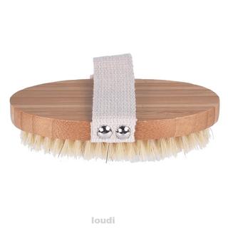 Bamboo Handle Bathroom Supplies Care Household Shower Brush