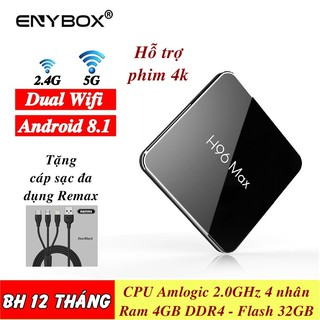 TVBox H96 Max X2 Ram 4GB Flash 32GB 4K – Android 8.1