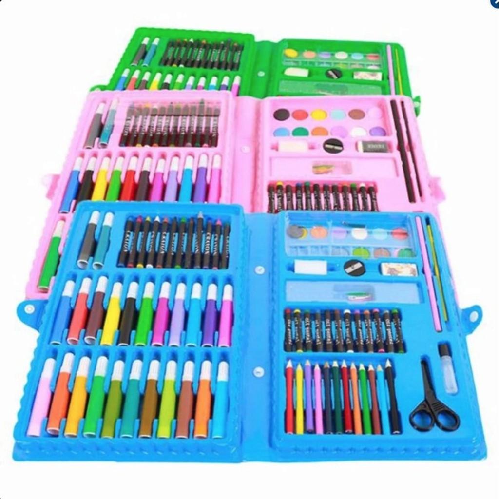 Bộ hộp bút màu 86 chi tiết cho bé thoả sức sáng tạo