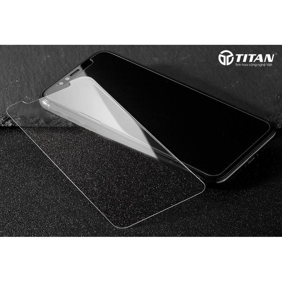 Combo Kính Cường Lực IPhone X Mỏng 0.1mm Chính Hãng isen (Mặt Trước + Mặt Sau)