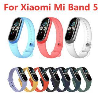 Dây đeo đồng hồ thông minh thể thao bằng silicon màu trong suốt cho Xiaomi Mi Band 5 thumbnail