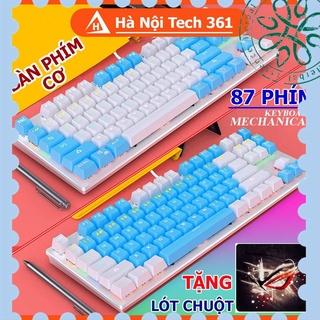 [ Hàng Hot ] Bàn Phím Cơ Gaming Chơi Game Máy Tính Crack K400 Led 10 Chế Độ Khác Nhau thumbnail
