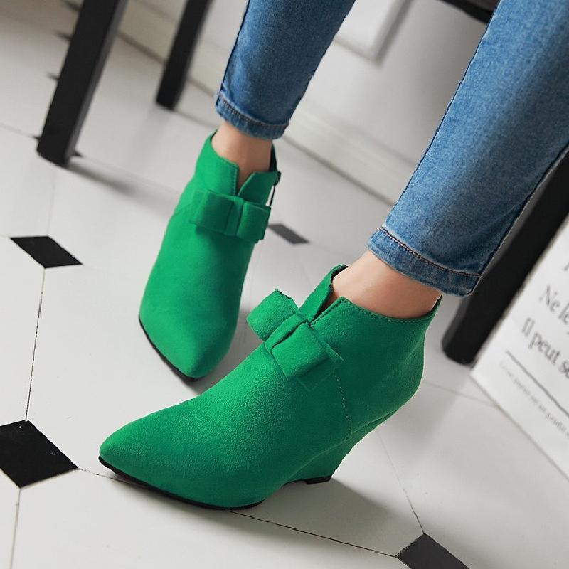 【จัดส่งฟรี】ยวกับรองเท้าส้นสูงแหลมรองเท้ารองเท้าแต่งงานสีเขียวรองเท้าแหลมและเปลือย