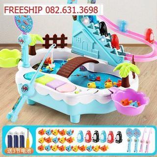Bộ đồ chơi câu cá điện tử cho bé