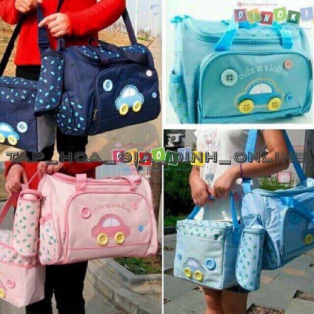 Set túi 3 chi tiết cho mẹ và bé - 3024720 , 1259826755 , 322_1259826755 , 260000 , Set-tui-3-chi-tiet-cho-me-va-be-322_1259826755 , shopee.vn , Set túi 3 chi tiết cho mẹ và bé