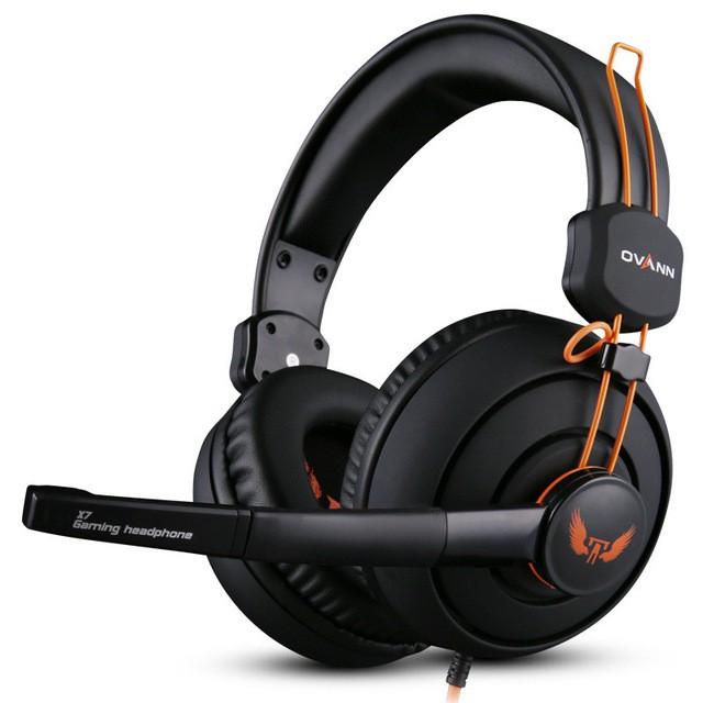 Tai nghe chụp tai chuyên game Ovann X7 - Hãng phân phối chính thức