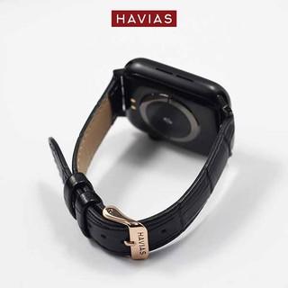 Dây đồng hồ Apple Watch HAVIAS Tradis - Khóa Vàng (Gold)