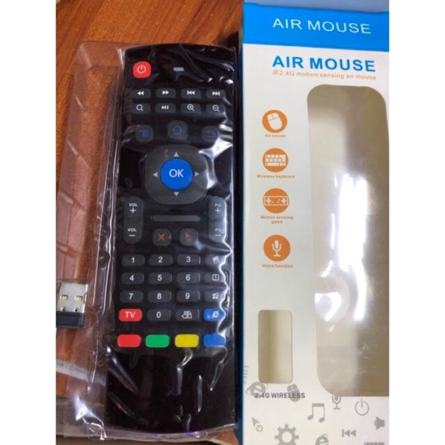 Điều khiển TV kiêm chuột bay và bàn phím không dây Airmouse KM800 - 3403663 , 1227387386 , 322_1227387386 , 255000 , Dieu-khien-TV-kiem-chuot-bay-va-ban-phim-khong-day-Airmouse-KM800-322_1227387386 , shopee.vn , Điều khiển TV kiêm chuột bay và bàn phím không dây Airmouse KM800