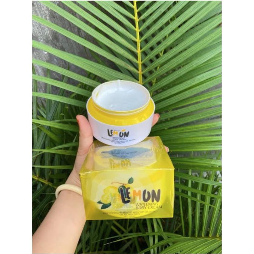 [ CHÍNH HÃNG ] Kem Body Lemon Chanh Kích Trắng Da