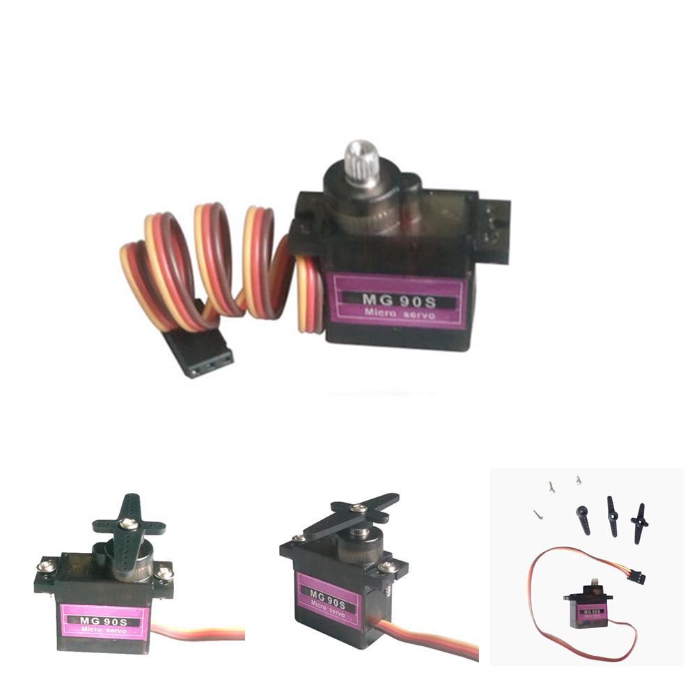Động cơ servo kỹ thuật số 4.8V mg90s cho đồ chơi điều khiển từ xa