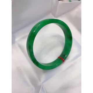 vòng tay sơn thủy bản vuông xanh lý