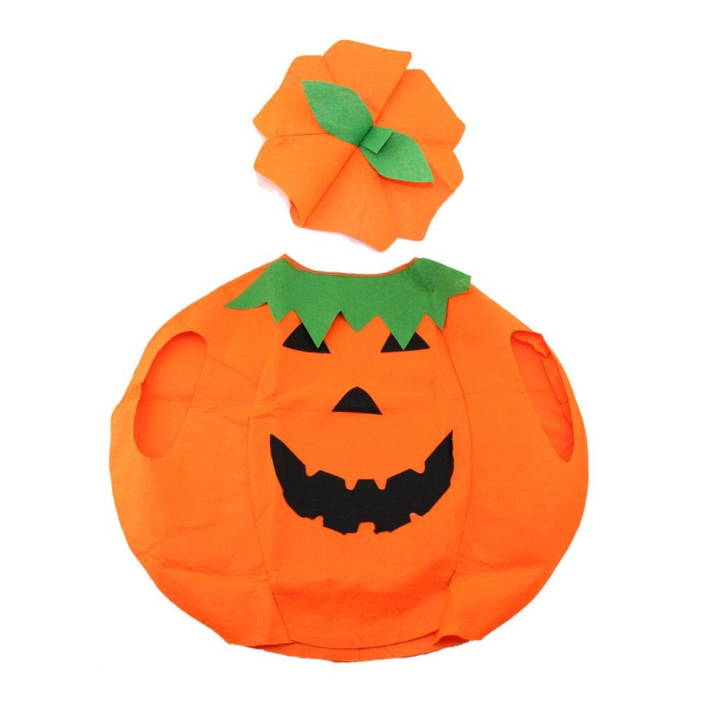 Cute Parent-child Loose Halloween Pumpkin Pattern