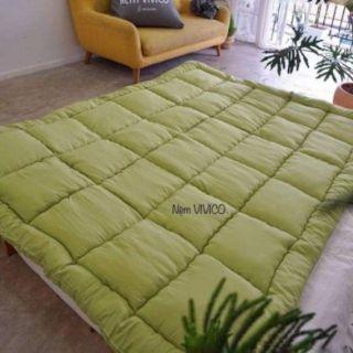 Topper nệm [dày 6cm]/ nệm trải sàn ngủ gấp gọn