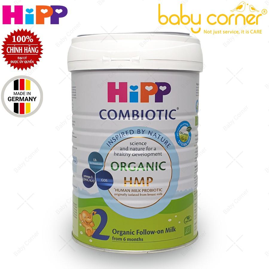 [Date T1/2022] Sữa Bột HiPP Organic Combiotic Số 2 Hộp 800g Cho Bé
