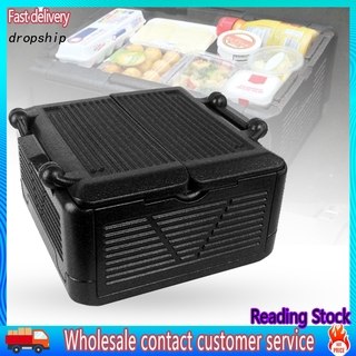 DRO_ Sports Travel Cool Appearance Portable Food Warmer Durable Storage Function Large Capacity Storage Box Large Capacity for Outdoor