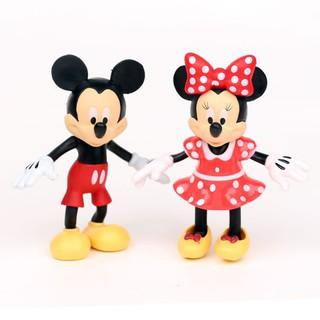 Set 8 món đồ chơi hình chuột Mickey và váy cho bé