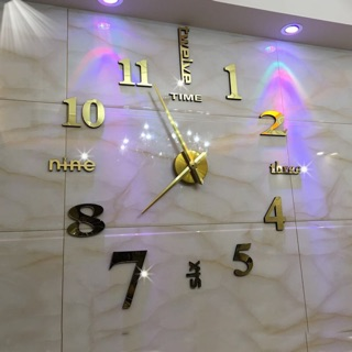 Đồng Hồ Dán Tường 3D Chính Hảng – Kiểu dáng Châu Âu MT