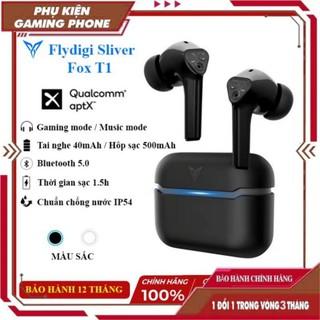 Flydigi CyberFox T1   Tai nghe gaming bluetooth 5.0, độ trễ thấp, tai nghe chuyên game FPS