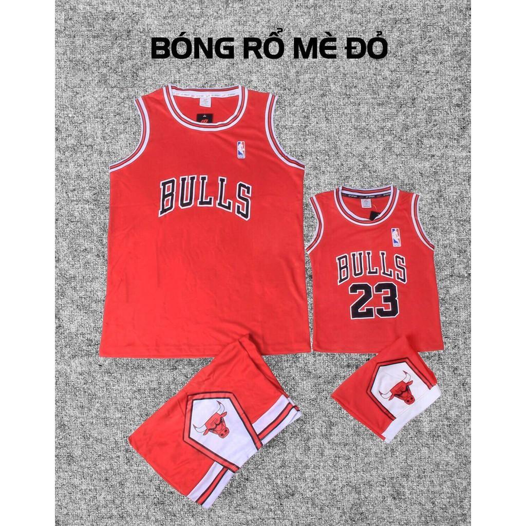 Combo Quần áo bóng rổ cho ba và con