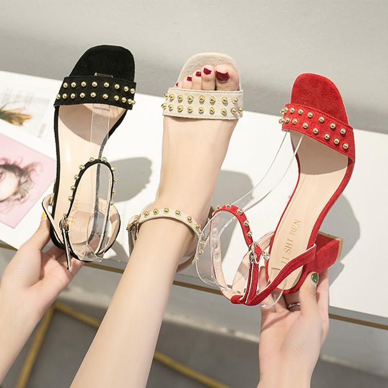 Giày sandal cao gót dây khóa thời trang nữ tính - 14014988 , 2670857796 , 322_2670857796 , 251100 , Giay-sandal-cao-got-day-khoa-thoi-trang-nu-tinh-322_2670857796 , shopee.vn , Giày sandal cao gót dây khóa thời trang nữ tính