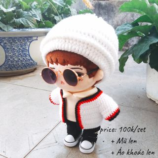 Outfit len cho doll