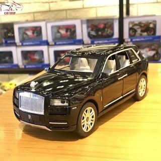 Mô hình xe ô tô Rolls-Royce Cullinan tỉ lệ 1:24 màu đen hàng Quảng Châu