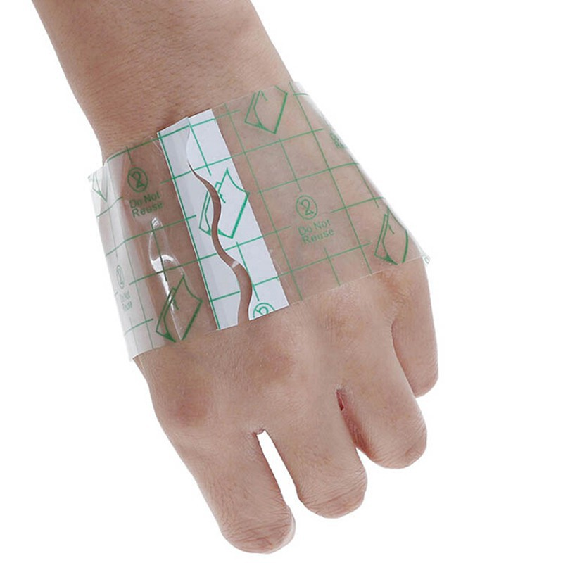 YICE】 10Pcs 10*13cm Waterproof Transparent Adhesive Wound