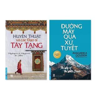 Sách - Combo 2 cuốn: Huyền Thuật Và Các Đạo Sĩ Tây Tạng + Đường Mây Qua Xứ Tuyết