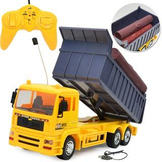Đồ chơi xe tải điều khiển từ xa 6 chức năng