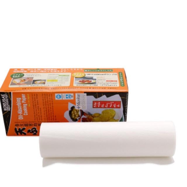 Giấy thấm dầu Kokusai 24cm*24cm 30 tờ