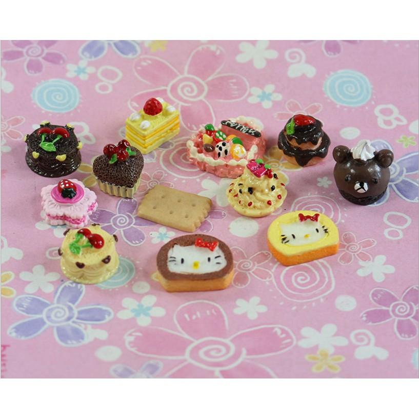 Combo 10 mẫu mô hình bánh kẹo số 4