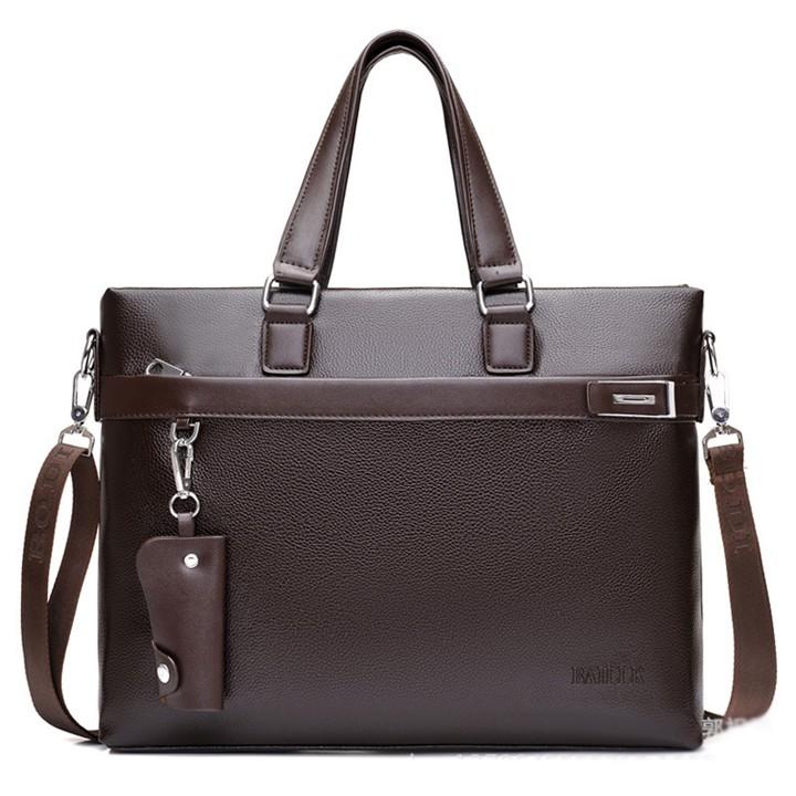 Túi xách công sở nam, túi xách laptop nam hàng Quảng Châu da cao cấp TX00185 QC185