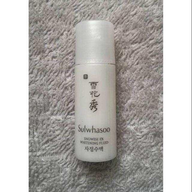 Sữa dưỡng trắng da Sulwhasoo Snowise EX Whitening Fluid