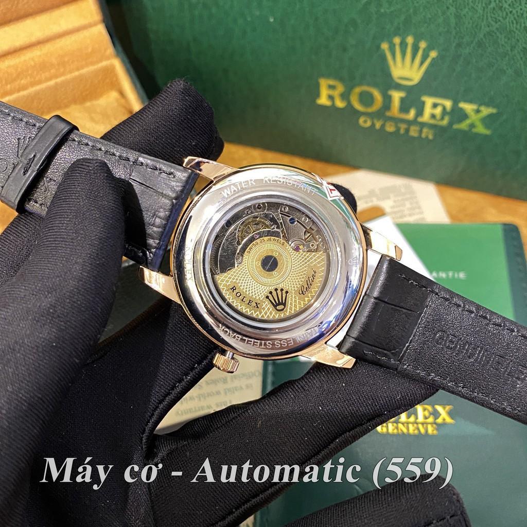 Đồng hồ nam RLX máy cơ xịn - chống nước bảo hành 24th donghovip