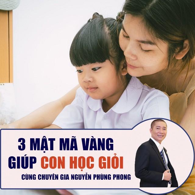 Toàn quốc- [E-voucher] FULL khóa học NUÔI DẠY CON- 3 Mật Mã Vàng giúp con học giỏi- Kỷ lục gia Nguyễn Phùng Phong
