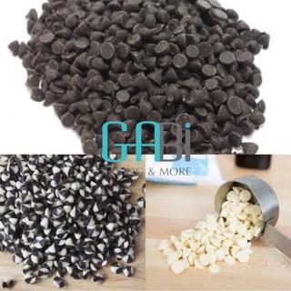 Socola chip (choco chip) đen/trắng/hai màu Grand Place 100g