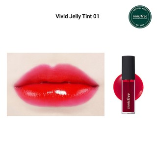 Son môi dạng lỏng innisfree Vivid Jelly Tint 01 5.2g-3