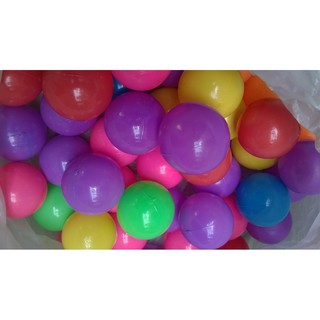 Combo 100 quả bóng nhựa mềm Việt Nam size 7cm