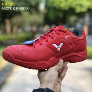 Sales 11-11 [Giày trẻ em] Giày cầu lông Victor P9200TD Đỏ ! [ SALE ] ༗ * * Du ri ₙ ₈