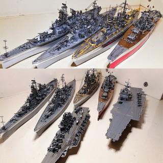 Mô hình 3D kim loại lắp ráp Thiết Giáp Hạm, Tàu Chiến ,Tàu Sân Bay Piececool siêu đẹp [ Chưa Lắp ] thumbnail