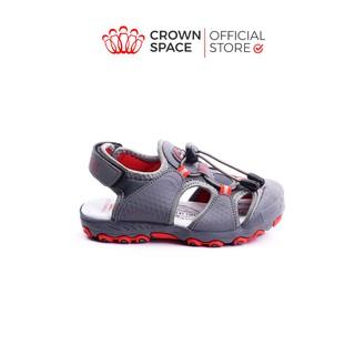 Giày Xăng Đan Bít Mũi Cho Bé Trai Đi Học Đi Chơi Chính Hãng Crown UK Active Sandals CRUK804 Nhẹ Êm Size 26-35/4-14 Tuổi
