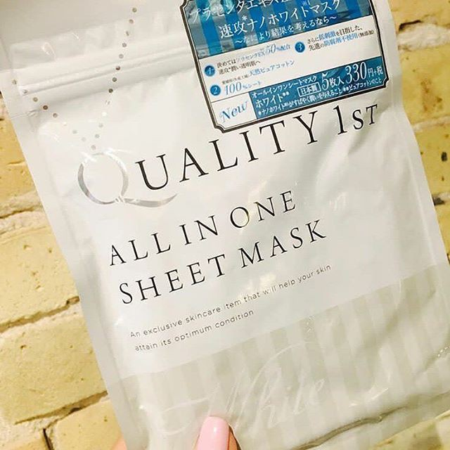 Mặt nạ Quality 1st All in One Sheet Mask White làm trắng da ...