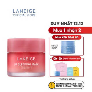 """Mặt nạ ngủ dành cho môi Laneige Lip Sleeping Mask 20G giá chỉ còn <strong class=""""price"""">37.500.000.000đ</strong>"""